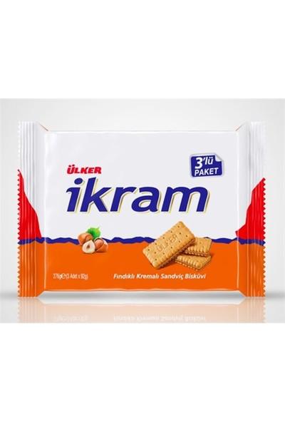 Ülker İkram Fındıklı 3x84 gr