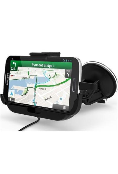 CoverZone Kidigi Samsung Galaxy S4 Araç Şarj Kiti Car Mount Cradle