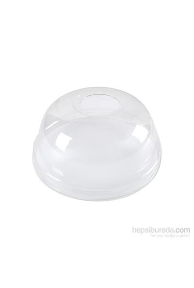KullanAtMarket Plastik Bombe Delikli Kapak 300 / 400 / 500 Cc 100 Adet