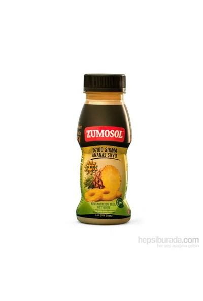 Zumosol %100 Taze Sıkma Ananas Suyu 200 ml