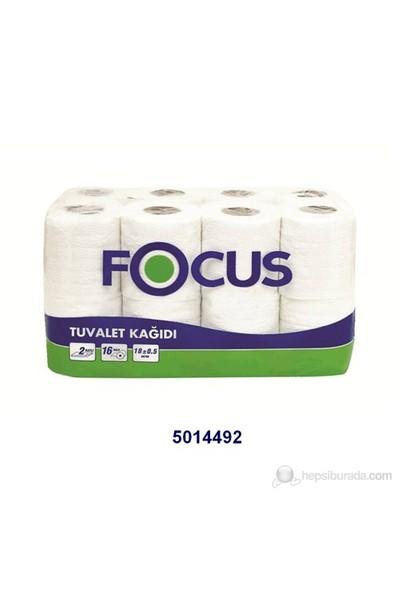 Focus Tuvalet Kagıdı - Çift Katlı - 16 'lı x 3 Paket