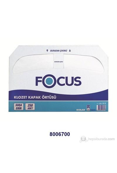 Focus Klozet Kapak Örtüsü - 250 'li Yaprak 1 Adet