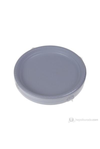Filpa 26 cm Plastik Desenli Tabak 50 Adet = 1 Paket