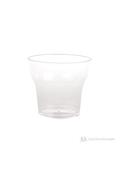 Filpa 180 ml Plastik Kristal Bardak 50 Adet = 1 Paket