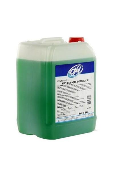 Bayer Kimya Oxy Sıvı Bulaşık Deterjanı Limon 5 Kg