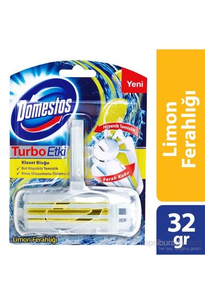 Domestos Wc Blok Turbo Etki Limon Ferahlığı 32 gr
