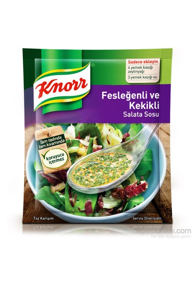 Knorr Salata Sosu Fesleğenli Kekikli 50 gr