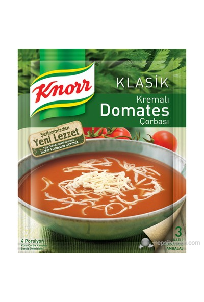 Knorr Klasik Kremalı Domates Çorbası 68 gr