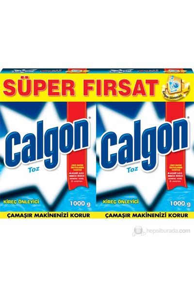 Calgon Toz Çamaşır Makinesi 1000 gr X 2