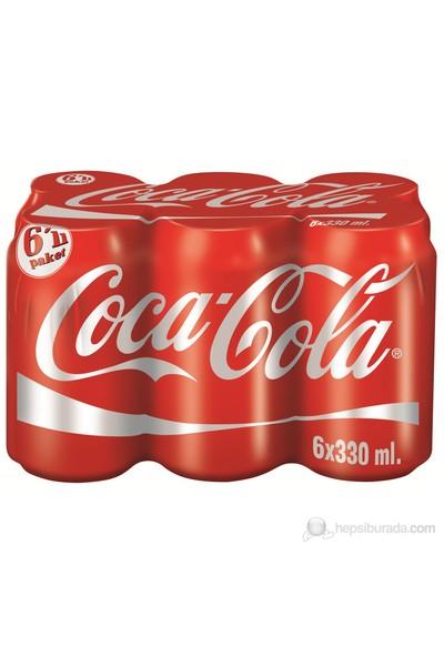 Coca-Cola Kutu 6X330 Ml kk