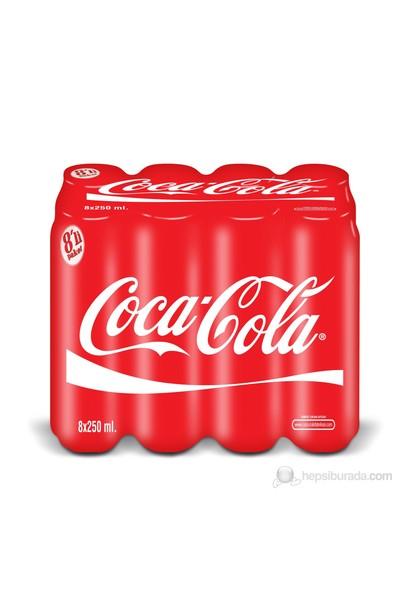 Coca-Cola 250 ml 8 'li kk
