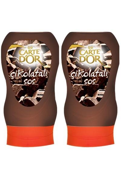 Carte Dor Çikolata Sosu 300 Gr X 2 Adet
