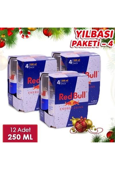 Red Bull Yılbaşı Enerji Paketi - 12Li