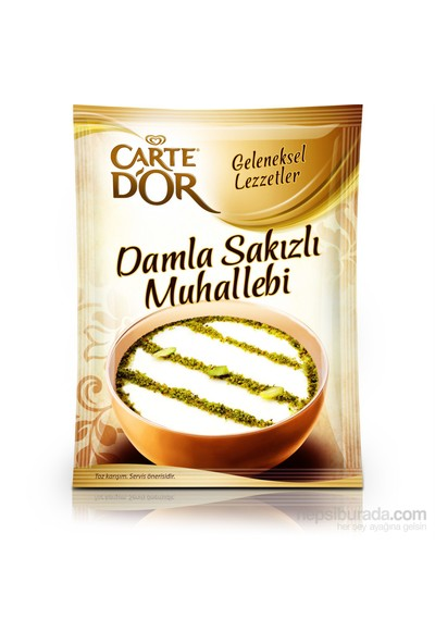 Carte D'Or Muhallebi DaMLa Sakızlı 134 gr