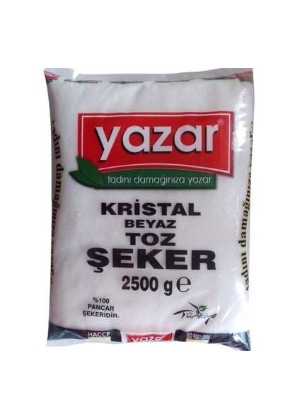 Yazar Toz Şeker 2.5 Kg