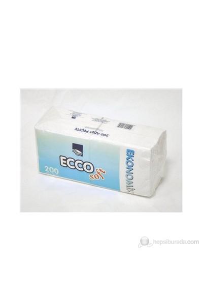 Ecco Soft Pecete Beyaz 200Lu(T.Kat)delist