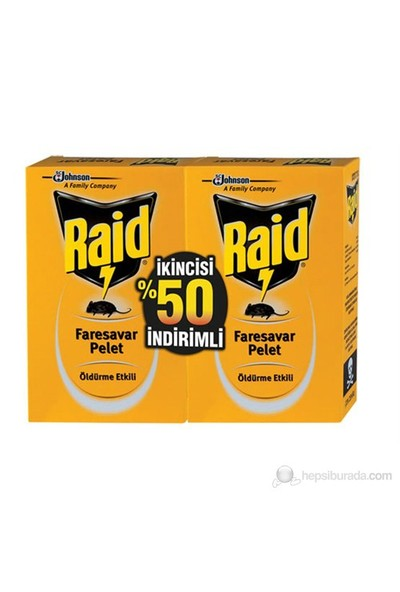 Raid Faresavar Promo - 2.%50 İndirimli