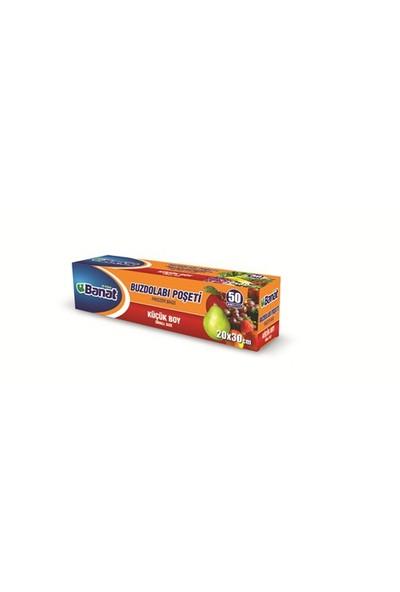 Banat Küçük Boy Buzdolabı Poşeti (20X30 Cm,1 Kutu=50 Adet) kk