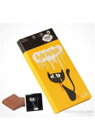 ChocChic Özür Dilerim Temalı Konuşan Çikolata