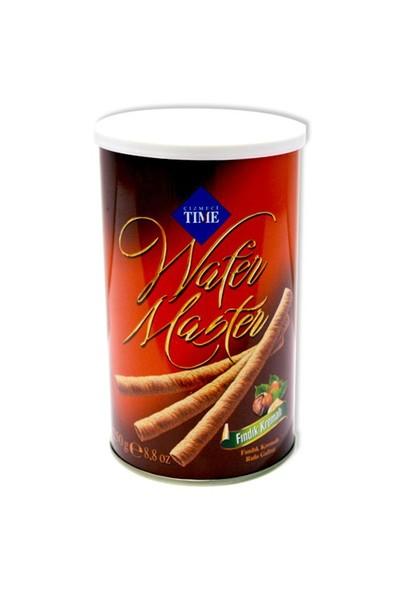 Wafer Master Gofret Fındıklı Teneke 250 gr