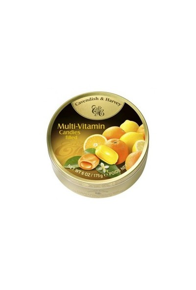 Cavendish & Harvey Multivitaminli Şeker 175 gr x 2 Adet
