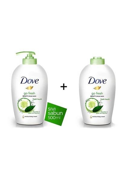 Dove Beauty Cream Wash Sıvı Sabun 500 Ml + 500 Ml Yedek Şişe