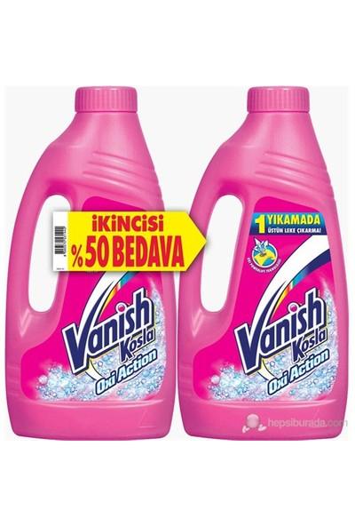 Vanish Kosla Sıvı 1+1 Leke Çıkarıcı Pembe