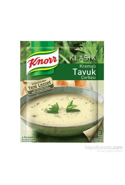 Knorr Hazır Kremalı Tavuk Çorbası