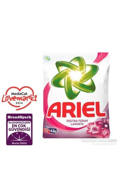 Ariel Toz Çamaşır Deterjanı Ekstra Ferah Lavanta 4,5 kg kk