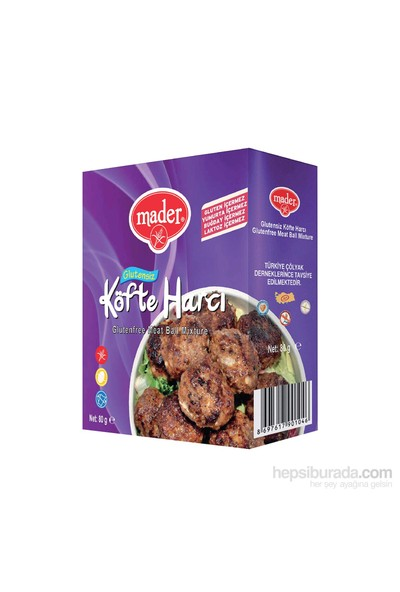 Mader Glutensiz Köfte Harcı 80 gr