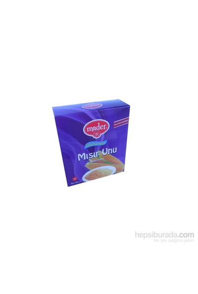Mader Glutensiz Mısır Unu 250 gr