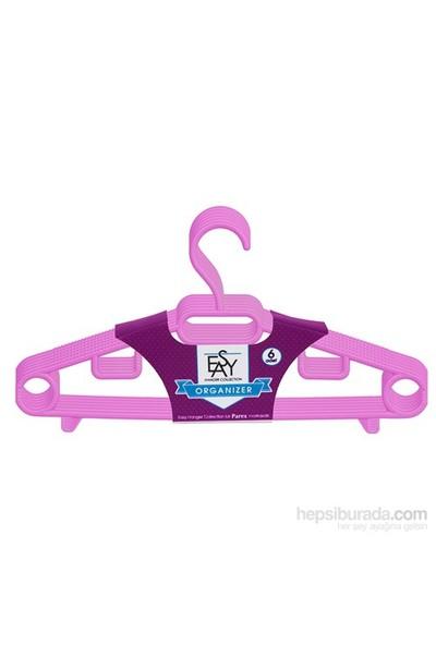 Parex Easy Hanger Collectıon Organizer Plastik Elbise Askısı 6 'lı