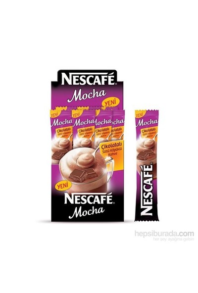 Nescafe Mocha 17,9 gr (24 'lü Paket)