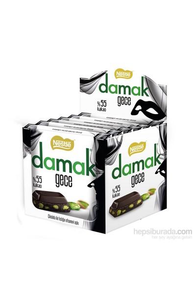 Damak Gece Antep Fıstıklı Bitter Çikolata 6'lı Paket
