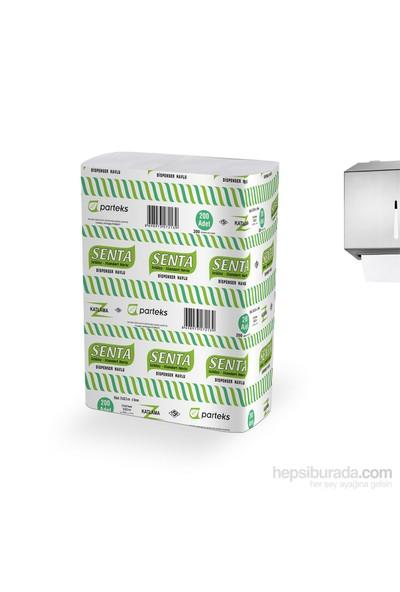 Senta Dispenser Standart Z Katlamalı Havlu 21X22 Cm(320G/Pk)