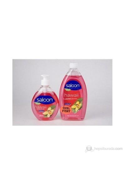 Saloon Sıvı Sabun 400+750Ml-Hawai Çiçekleri