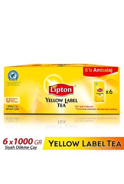 Lipton Yellow Label Dökme Çay 1000 gr 6 'lı