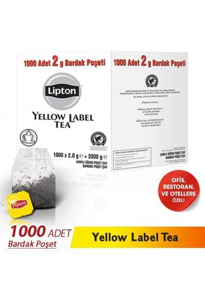 Lipton Yellow Label 2Gr 1000'Li Bardak Poşet Çay