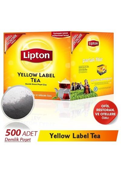 Lipton Yellow Label 3,20Gr 500'Lü Demlik Poşet Çay