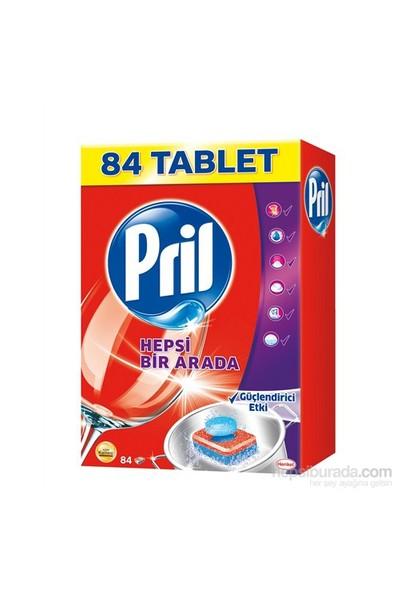 Pril Hepsi Bir Arada Bulaşık Makinası Tableti 84 Yıkama