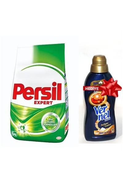 Persil Konsantre Matik Çamaşır Deterjanı Regular 6 kg+Vernelmax Amber750 ml Hediyeli kapattık