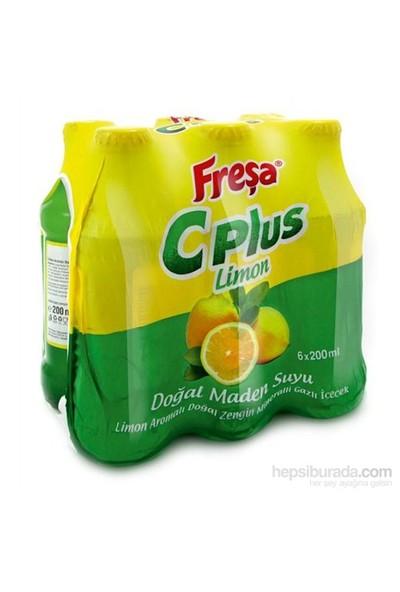 Fresa 6 X 200 Ml C Plus Limon Aromali Maden Suyu