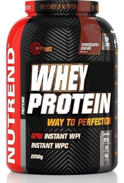 Nutrend %100 Whey Protein 2250 Gr Bisküvi
