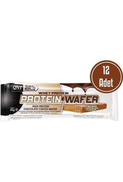 Qnt Protein Wafer Bar Gofret 35 Gr 12 Adet Çıkolata