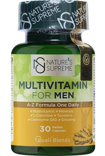 Nature's Supreme Multivitamin for Men 30 Kapsül