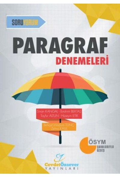 Cevdet Özsever Paragraf Denemeleri - Sinan Kangal
