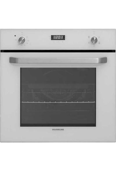 Silverline BO6191W01 Beyaz Ankastre Fırın