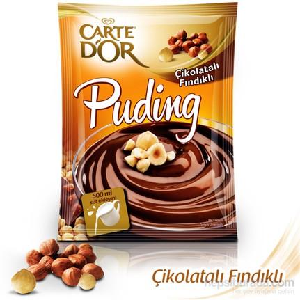 Fındıklı Çikolatalı Puding