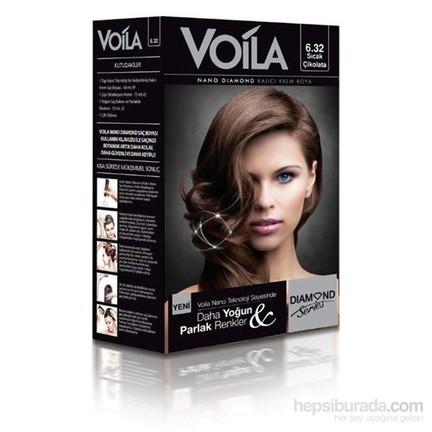 Voila Nano Diamond Krem Saç Boyası Sıcak çikolata 632 Fiyatı