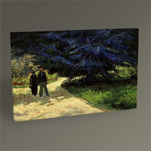 Tablo 360 Vincent Van Gogh-The The Poet's Garden Iıı 45X30